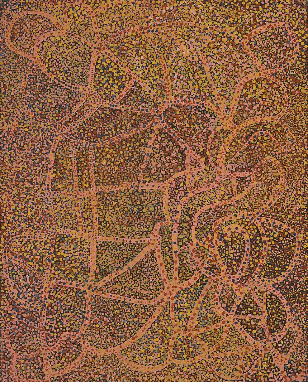 two lovers meet aboriginal art Her works are very bold and free flowing and immediately capture the attention of art lovers having never been taught art by way of european methods, nor having visited museums and contemporary art galleries, minnie was one of australia's top female contemporary indigenous artists her paintings are loved for being so.