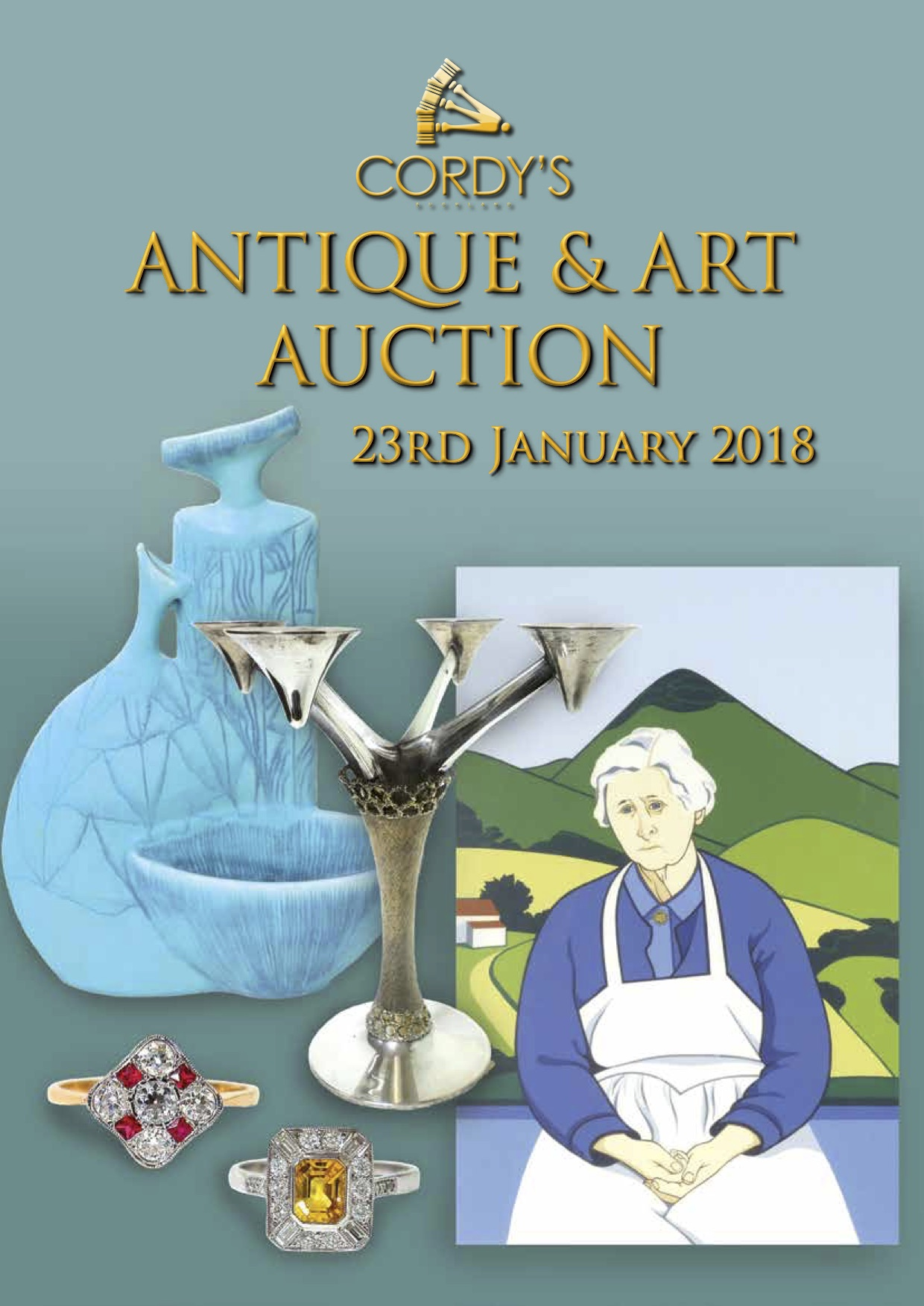 January 2018 Art & Antique Auction - Cordy's | Find Lots Online