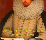 August 2016 Art and Antique Auction