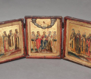 Traditional European & Fine Art Including a Collection of World Class  Russian Icons